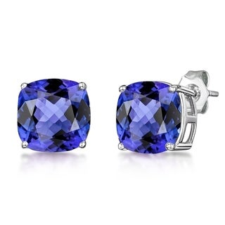 2.3 Ct Created Tanzanite, Aquamarine, Sapphire 925 Sterling Silver For Womens By Orchid Jewelry