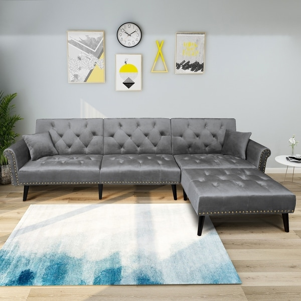 Designer Futons: Shop Harper & Bright Designs Modern Vintage Futon Sofa Bed