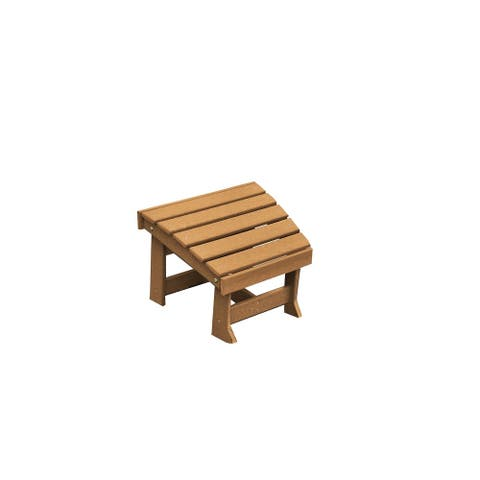 Outdoor Foot Stool for Adirondack Chairs - New Hope Style