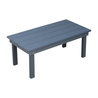 Outdoor Coffee Table in Hampton Style - Recycled Plastic