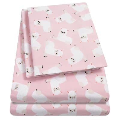 Llamas Sheet Set by Sweet Home Collection - Multi