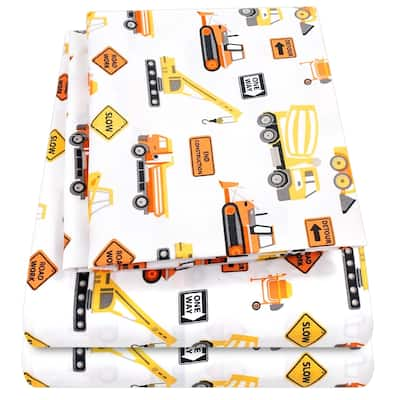 Construction Sheet Set by Sweet Home Collection - Multi