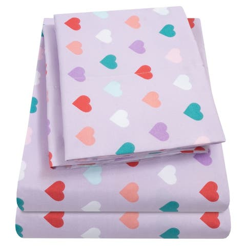 Hearts Sheet Set by Sweet Home Collection - Multi