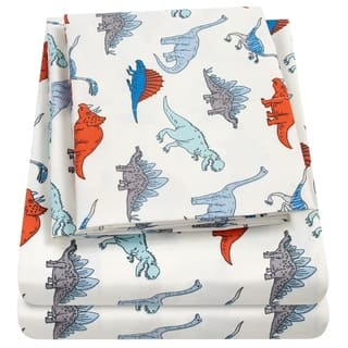 Dinosaurs Sheet Set by Sweet Home Collection - Multi
