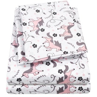 Unicorns Sheet Set by Sweet Home Collection