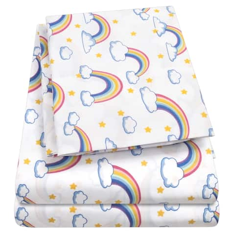 Rainbows Sheet Set by Sweet Home Collection - Multi