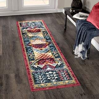 Orian West Village Sevas Multi Texture Runner Rug - 2'3 x 8'