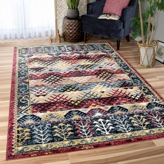 Orian West Village Sevas Multi Texture Area Rug - 7'10 x 10'