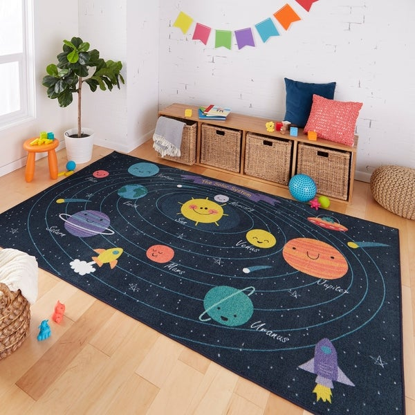 Mohawk Home Planet Solar System Kids Area Rug. Opens flyout.