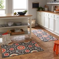 """Mohawk Soho Delia Suzani Rug Set (Set Includes: 2'x5' Runner and 2'6""""x3'10"""" Scatter) - 2' x 5'"""