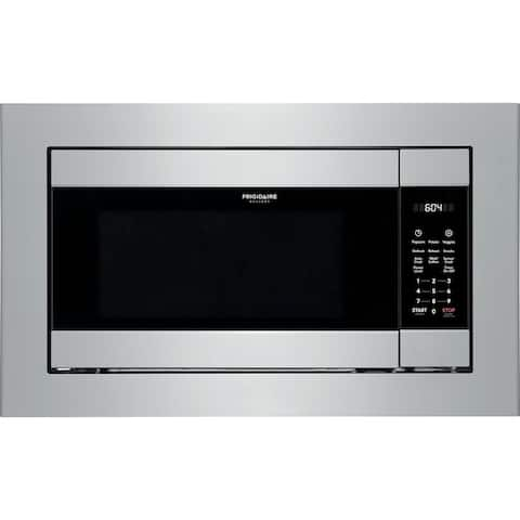 Frigidaire Gallery Series 2.2 Cu. Ft. 1200W Sensor Microwave Oven for Built-In Installation in SmudgeProof Stainless Steel