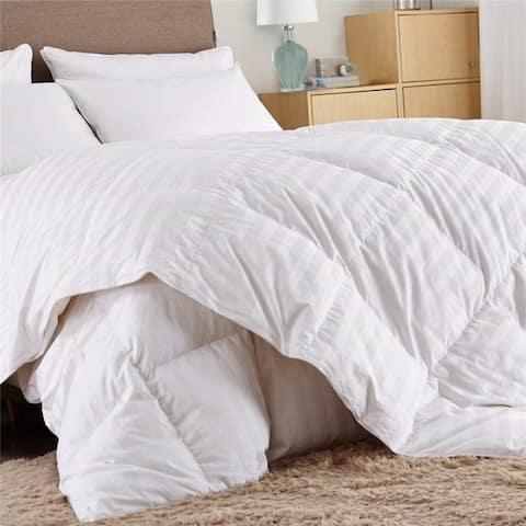 Super Soft Down Alternative Hypoallergenic All-Season White Comforter