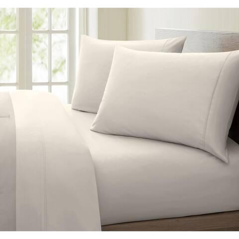 Porch & Den Jess 1000 Thread Count Cotton-rich Deep Pocket Sheet Set
