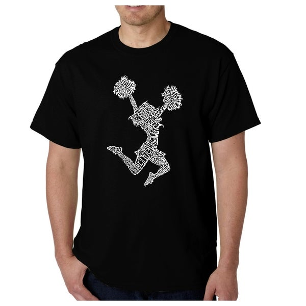Mens Word Art T-shirt - Cheer