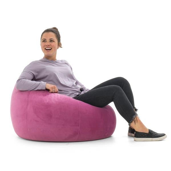 Cool Shop Big Joe Loon Bean Bag Chair Multiple Colors On Sale Machost Co Dining Chair Design Ideas Machostcouk