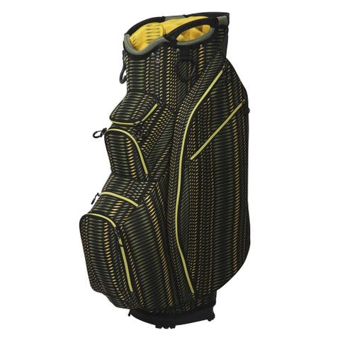 OUUL 15 way Superlight Cart Bag Olive Yellow - N/A