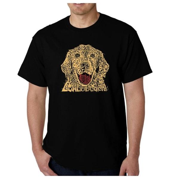 Mens Word Art T-shirt - Dog