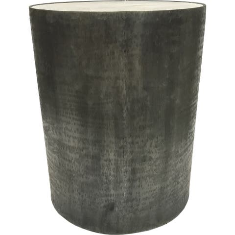 Renwil Balford Grey Aluminum Outdoor Accent Table