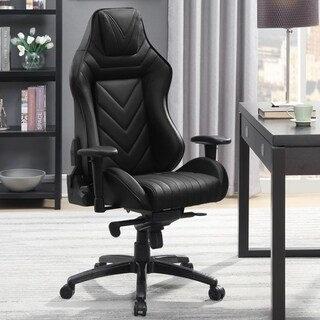 Reclining Racer Design Black Multifunction Ergonomic Gaming Executive Office Chair