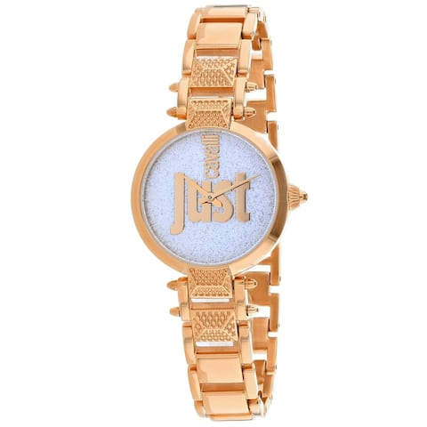 Just Cavalli Women's JC1L076M0145 'Just Mio' Rose Gold-Tone Stainless Steel Watch