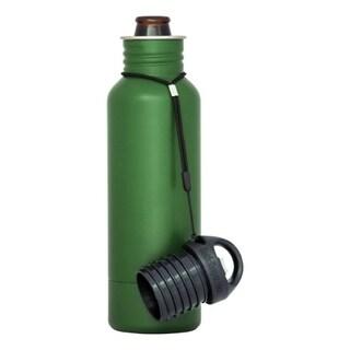 BottleKeeper The Standard 2 0 Insulated Bottle Koozie 12 Oz Green 1 Pk