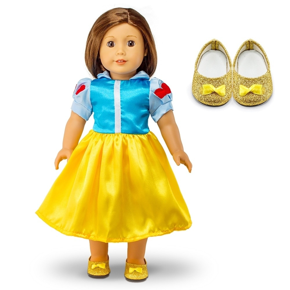 """Fits American Girl 18/"""" Princess Dress 18 Inch Doll Clothes Costume Outfit"""