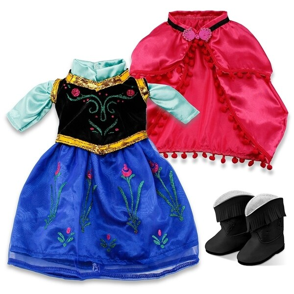 """Fits American Girl 18/"""" Princess Dress 18 Inch Doll Clothes Costume Outfit US"""