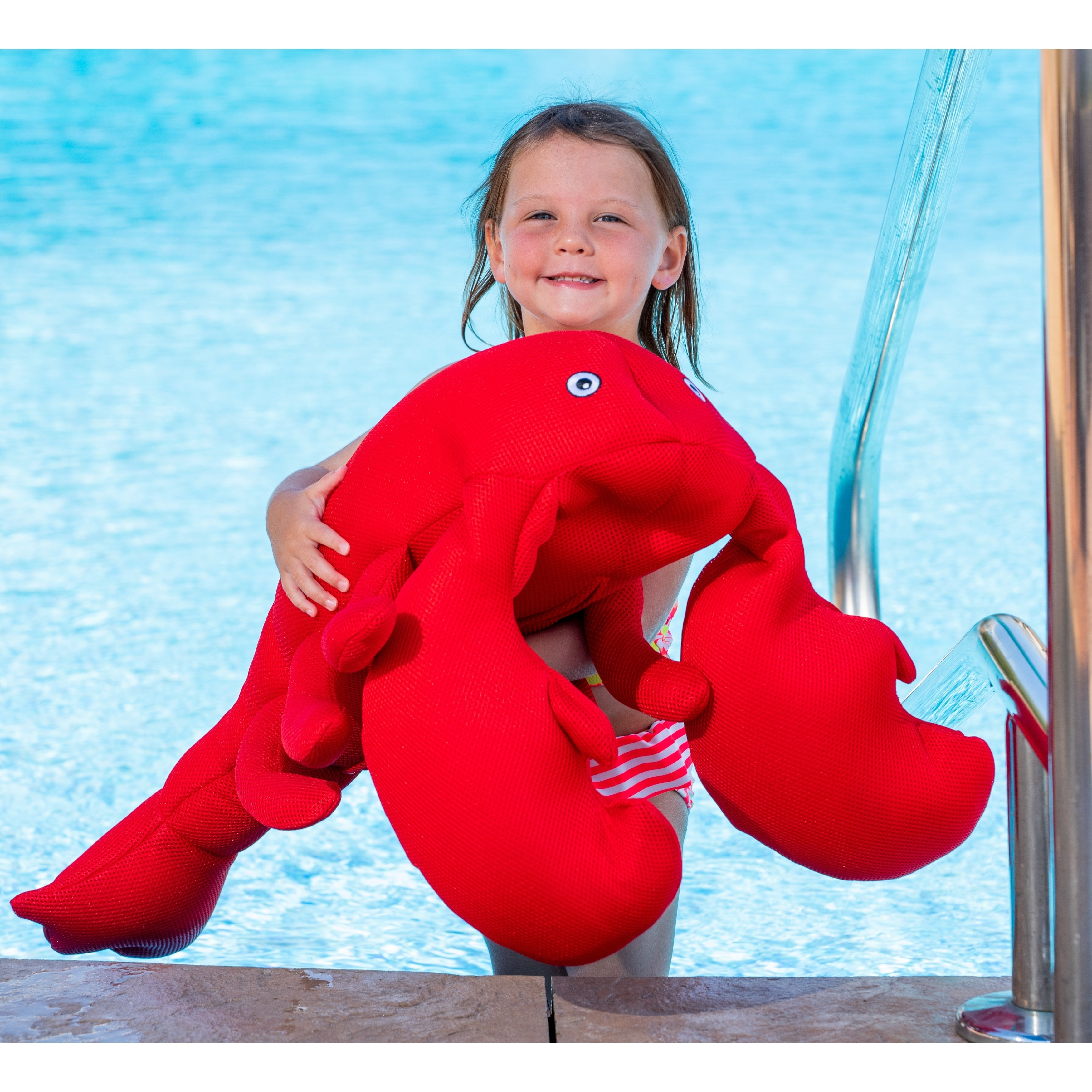Wondrous Lobster Bean Bag Float For Swimming Pools Red Ocoug Best Dining Table And Chair Ideas Images Ocougorg