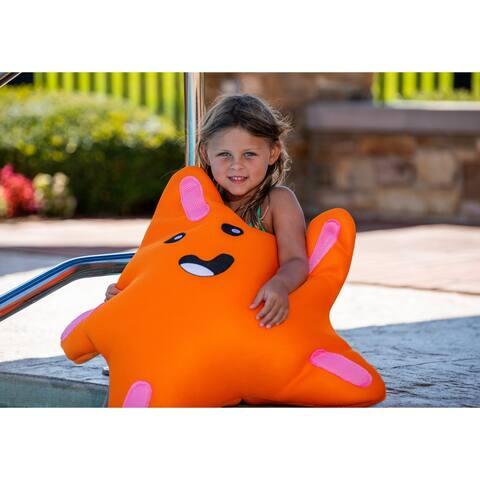 Starfish Float for Swimming Pools - Orange