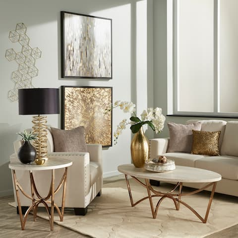 Buy Gold Coffee, Console, Sofa & End Tables Online at ...