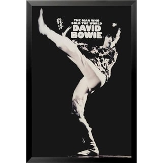 FRAMED David Bowie The Man Who Sold The World 36x24 Music Art Print Poster - 36 x 24