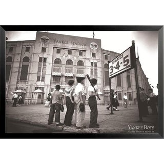 Link to FRAMED Vintage Yankee Stadium Yankee Boys 36x24 Sports Art Print Poster - 36 x 24 Similar Items in Art Prints