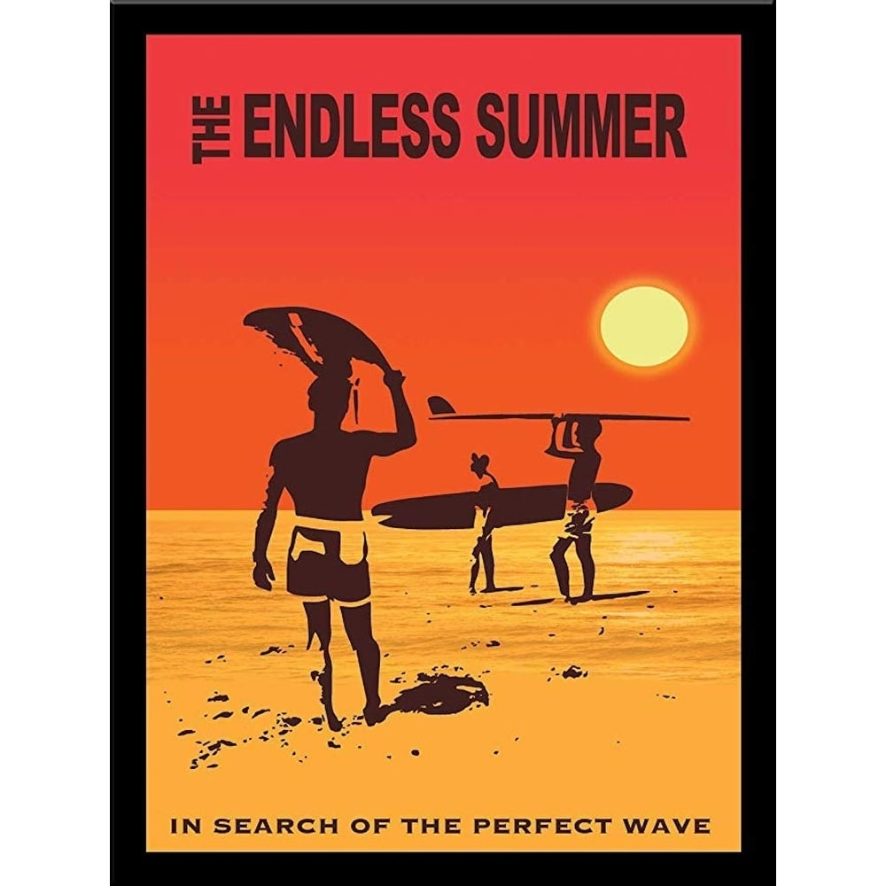 Framed The Endless Summer In Search Of The Perfect Wave 1966 By Bob Downs Graphic Art Print Overstock 27885859
