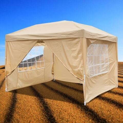 10'x10' Outdoor Wedding Gazebo Pop-Up Canopy Party Tent