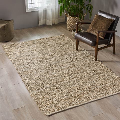 Hanover Transitional Hemp Area Rug by Christopher Knight Home - 5' x 8'