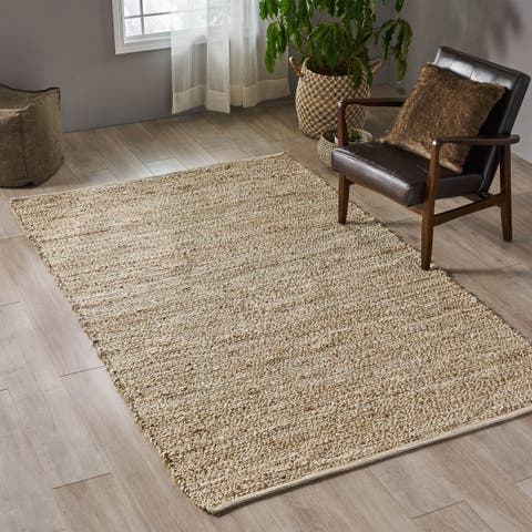 Hanover Transitional Hemp Area Rug by Christopher Knight Home