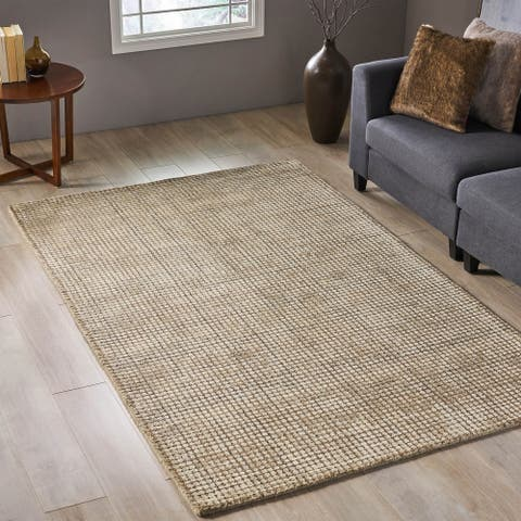 Haverhill Boho Wool and Viscose Area Rug by Christopher Knight Home - 5' x 8'
