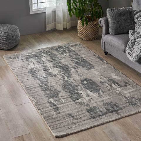 Holley Boho Viscose Area Rug by Christopher Knight Home