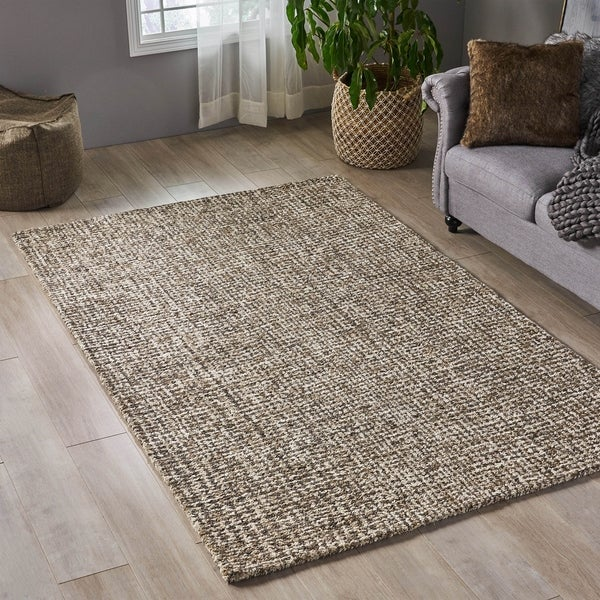 Christopher Knight Home Hornsby Boho Wool/ Viscose Area Rug - 5' x 8'
