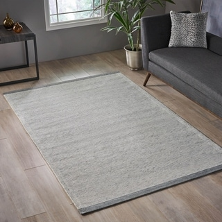 Christopher Knight Home Haver Modern Wool/ Viscose Area Rug - 5'1 x 8'3