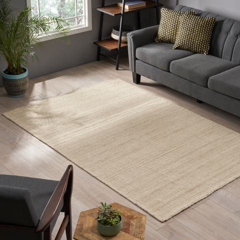 "Henderson Boho Wool Area Rug by Christopher Knight Home - 96.00"" L x 62.00"" W x 0.307"" H"