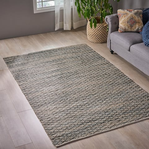 Christopher Knight Home Hannaford Transitional Hemp Area Rug - 5' x 7'10
