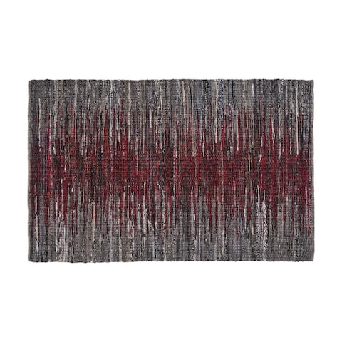 Farrow Boho Fabric Area Rug by Christopher Knight Home - 5' x 8'