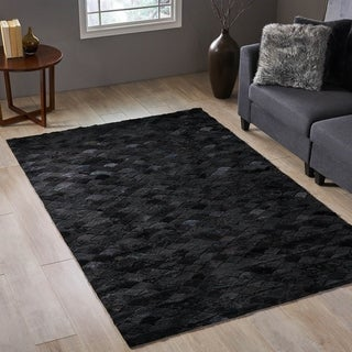 Falcon Transitional Sheep Hide Area Rug by Christopher Knight Home - 5' x 8'