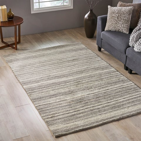 Drechsler Transitional Wool Area Rug by Christopher Knight Home - N/A