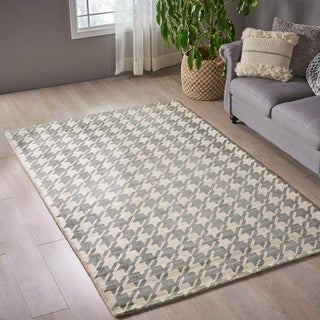 Christie Boho Viscose Patterned Area Rug by Christopher Knight Home
