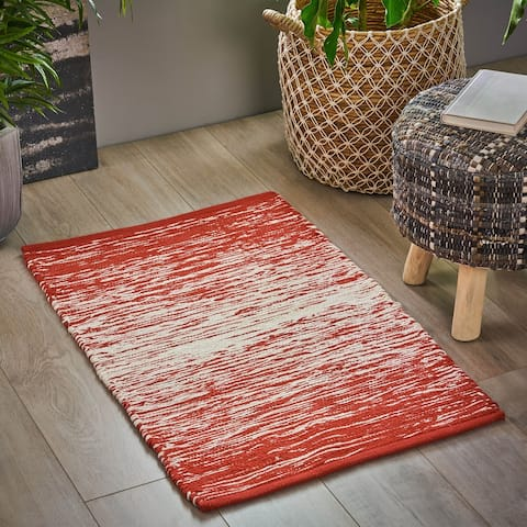 Rayburn Boho Cotton Scatter Rug by Christopher Knight Home - 2' x 3'