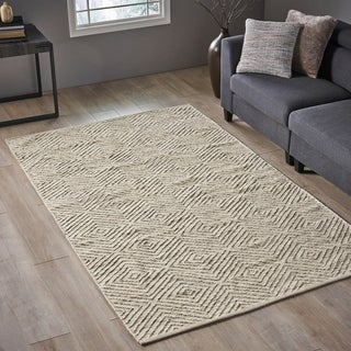 Christopher Knight Home Ellery Transitional Wool Area Rug - 8' x 5'