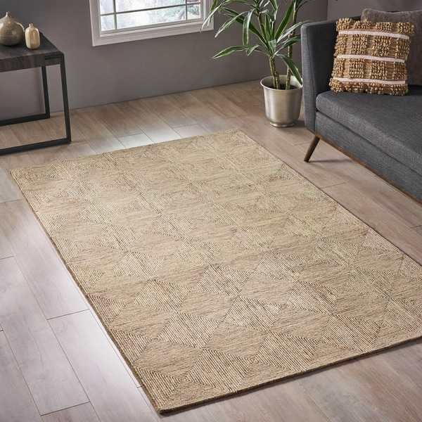 Clonivs Modern Wool Area Rug by Christopher Knight Home - 5' x 8'. Opens flyout.