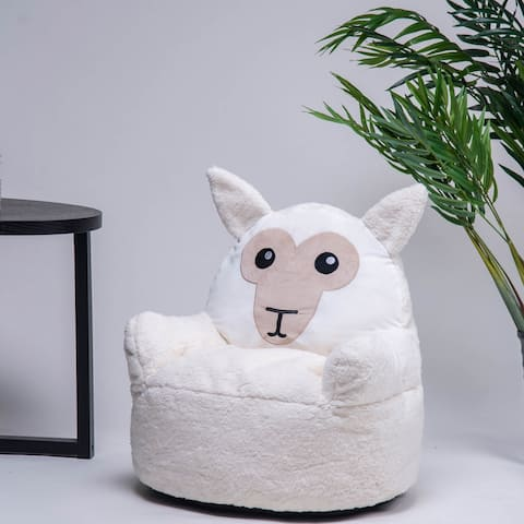 Merax Kids Cute Animal Memory Foam Bag Chair